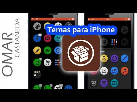 COMO INSTALAR TEMAS EN IPHONE O IPAD IOS7 Y MODIFICAR APARIENCIA