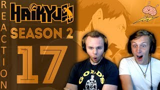SOS Bros React - Haikyuu Season 2 Episode 17 - Ennoshita Is Reliable!!