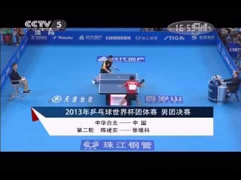 2013 World Team Classic [MT-FINAL] CHINA Vs TAIPEI [Full Match/Chinese]