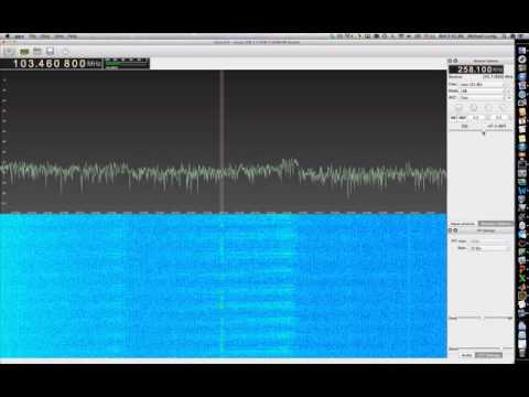 HAM radio talk using hamitup and rtl-sdr