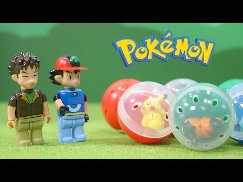 Pokemon Toys - CoroCoro Capsule machine -  Pokémon Toys for Kids