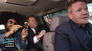 Download Lagu Gordon Ramsay Drives James & Reggie to LAX - #LateLateLondon Gratis STAFABAND