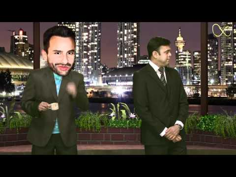 Slapper Saif Pushes Agent Vinod
