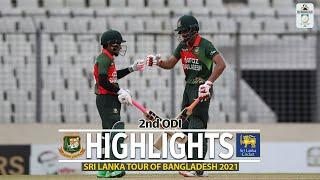 Bangladesh vs Sri Lanka Highlights || 2nd ODI || Sri Lanka tour of Bangladesh 2021