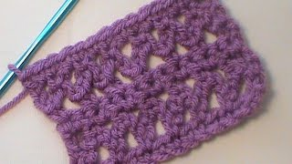 "How to Crochet the ""Braided Lace"" Stitch Pattern"
