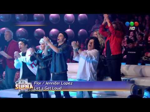 Florencia Pe ña es Jennifer Lopez en Tu Cara me Suena 2014 HD
