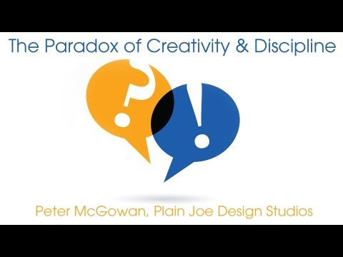 The Paradox of Creativity and Discipline | Peter McGowan