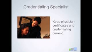 Credentialing Specialist Role & Responsibilities