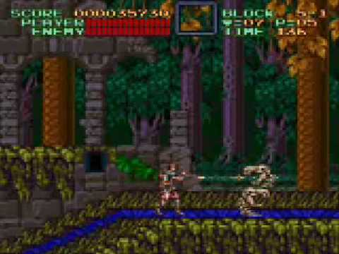 Super Castlevania 4 Stage 5 Video