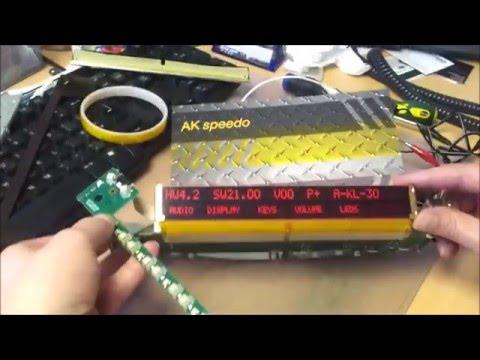 BMW E38 7 series Radio MID Pixel Repair LCD pixel repair