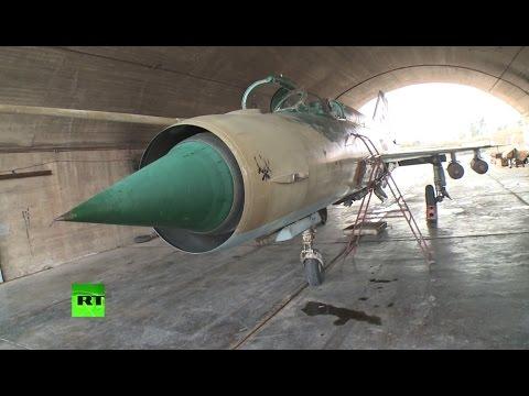 МиГ-21 и МиГ-23: сирийские ВВС успешно борются с ИГ, несмотря на преклонный возраст своих самолетов