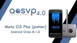 Viper OS 4.0 com Android Oreo 8.1.0 - Moto G5 Plus