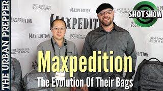 Maxpedition: The Evolution Of Their Bags | Shot Show