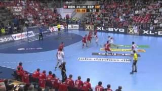 Danmark - Spanien sidste 10 min - Vm håndbold 2011