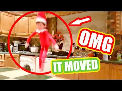 TOP 5 ELF ON THE SHELF VIDEOS 🎄Caught moving on camera OMG!!!🎄Ep 1 Christmas 2018