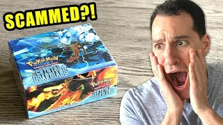 *SCAMMED?!* Fake Pokemon Cards Opening!