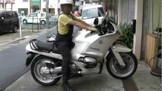 Motoholic - BMW R1100RS cold start in summer & walk around (sold)