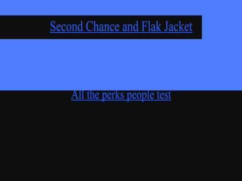 Call of Duty Black Ops - Second Chance and Flack Jacket Poem