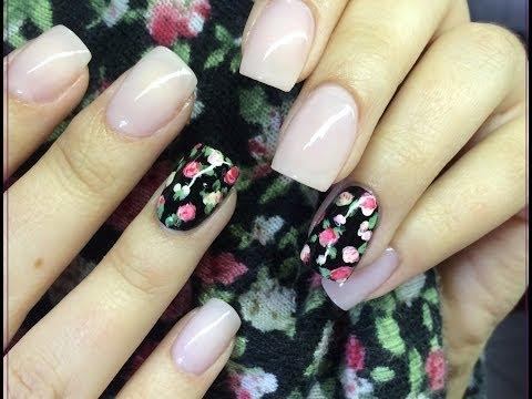 Rosas faciles Mano Alzada