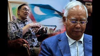 Anwar says a 'totally shattered' Najib called him twice on election night