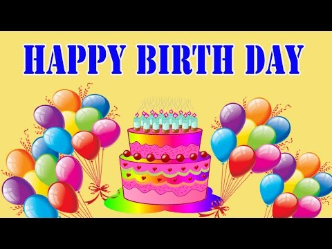 Happy Birthday Song For Kids | Happy Birthday Songs For Children 2d Animated Video video