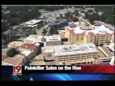 CBS 19 - Pain Killer Sales on the Rise