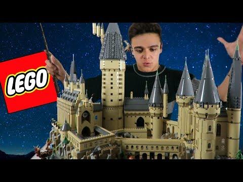 ¡ARMANDO EL NUEVO HOGWARTS DE LEGO! /NAVY