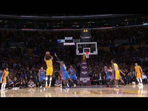 Nick Young Game-Winning 3-Pointer Against the Thunder | 11.22.16