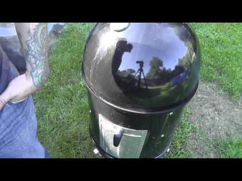 Smoked Pork Butt - Weber Smokey Mountain