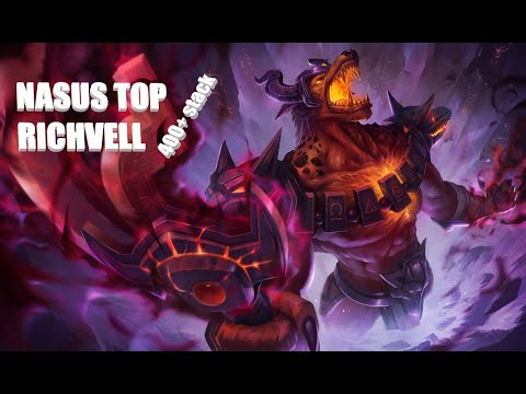 League of Legends I 400+ Stack Nasus on TOP
