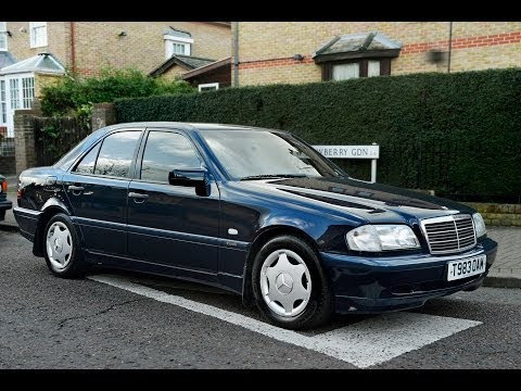 1999 MERCEDES-BENZ C180 W202 ESPRIT REVIEW: ENGINE STARTING. DRIVING