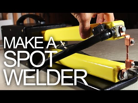 Make a Spot Welder - Cheap