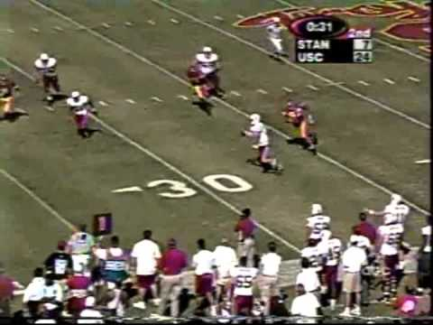 1999 Stanford football highlights: Stanford 35, USC 31