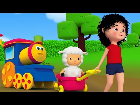 download lagu Mary Had Sedikit anak domba | Bob Kereta | sajak anak | Song For Kids | Mary Had a Little Lamb