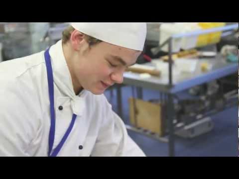 Diploma in Professional Cookery at Aoraki Polytechnic, Timaru.