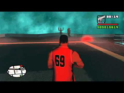 UFO over San Andreas