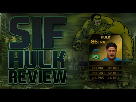 FIFA 14 NEXT GEN -  86 RATED SIF HULK REVIEW!!!