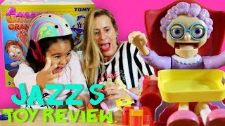 GREEDY GRANNY TOY CHALLENGE GAME! - Family Games To Play At Home   Jazz Toy Review