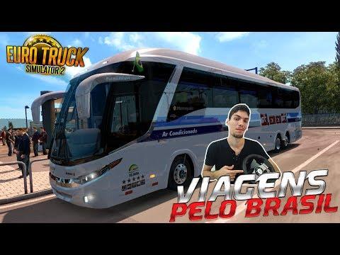 Viagens Pelo Brasil MAPAEAABUS - Vitoria-ES x Linhares Ônibus Viação 1001 Euro Truck2 G27!