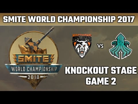 SMITE World Championship 2018: Knockout Stage - Nocturns Gaming vs. Scylla Esports (Game 2)