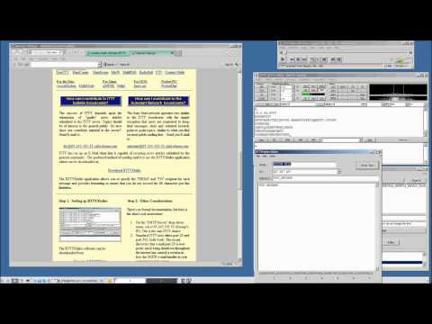 Rtty.Com Internet Teletype Demonstration