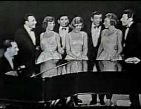 The Ames Brothers and The McGuire Sisters - Side by side Video