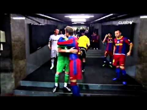 Fc barcelona vs real madrid are not enemies but friends
