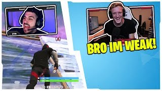 TFUE & STREAMERS CANT STOP LAUGHING WHEN REACTING TO THIS CLIP OF NICKMERCS!