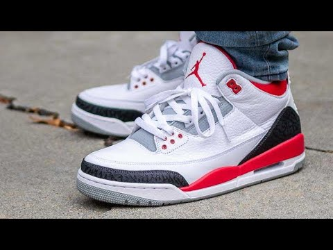 Air Jordan Fire Red III 3 Shoe Review + On Feet In HD W/ @DjDelz Dj Delz The Sneaker Addict