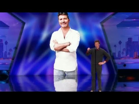 Impressionist Daniel Ferguson Mocks Simon with 'Cake by the Ocean' | America's Got Talent 2017 thumbnail