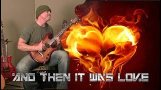 And Then It Was Love - Rock Guitar Instrumental - JP100 Petrucci Guitar