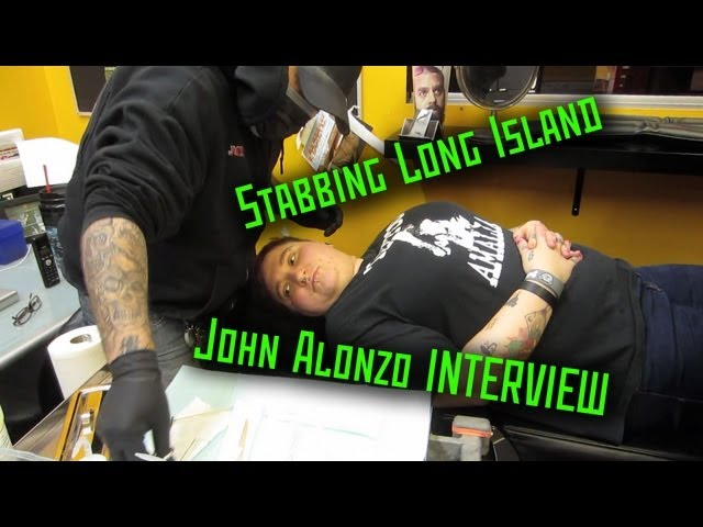 Stabbing Long Island- John Alonzo Interview- THE MODIFIED WORLD