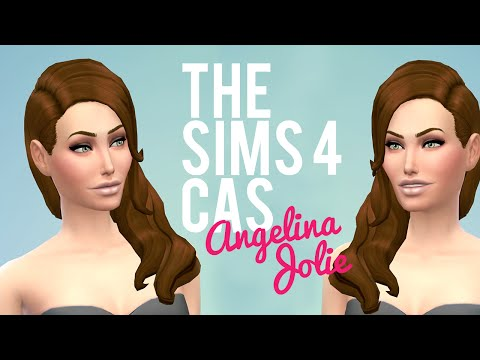 The Sims 4 Cas Demo — Angelina Jolie — Celebrity video