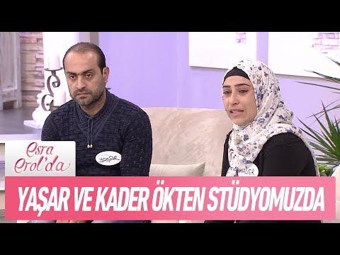 Yaşar - Kader Ökten çifti stüdyomuzda - Esra Erol'da 30 Kasım 2017